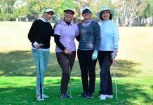 Acción en el Torneo de Golf del Club Campestre