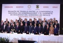 Gobierno federal y Conago fortalecerán estrategia de seguridad
