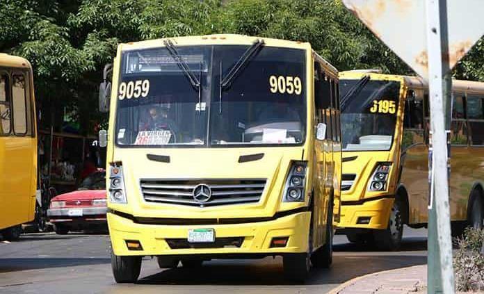 Aumenta tarifa del transporte urbano a $9.80