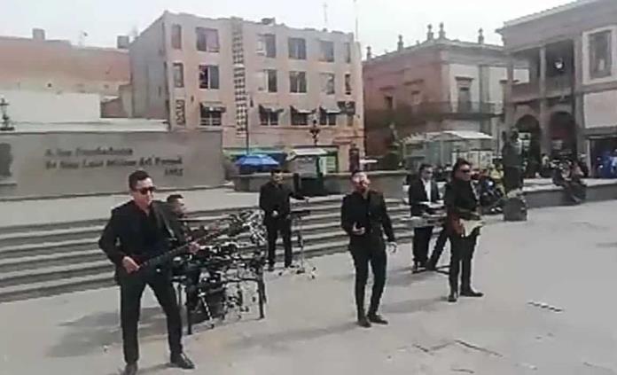 Grupo Bryndis graba en Fundadores su nuevo video musical