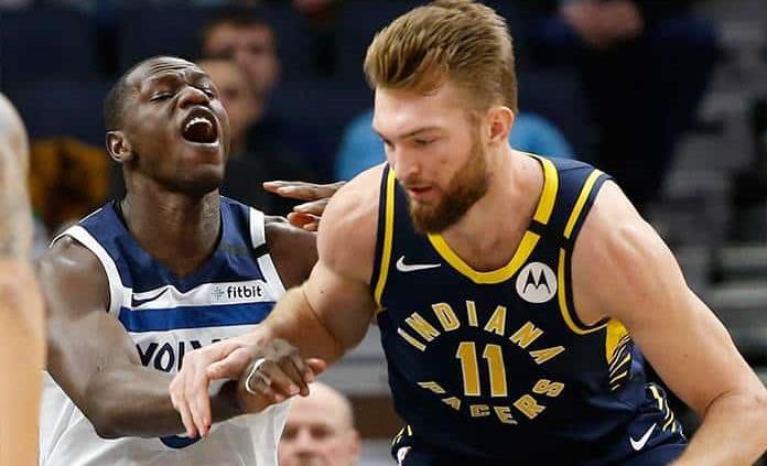 Con 29 puntos de Sabonis, Pacers superan a Wolves