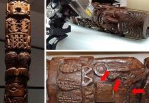 Estatua de dios Inca Pachacámac tenía colorantes agregados
