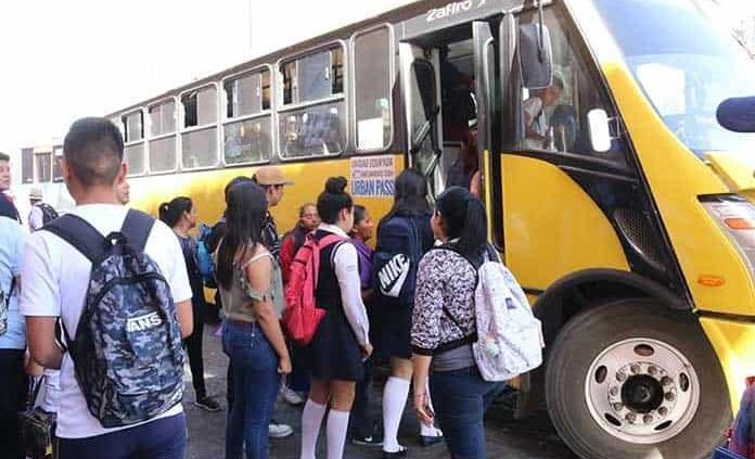Hoy entra en vigor el incremento a la tarifa de transporte
