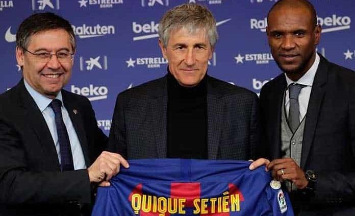 Presenta Barcelona a Quique Setién como su nuevo técnico