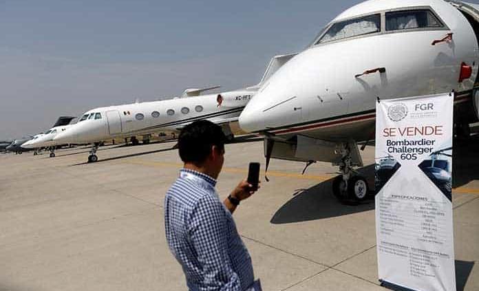 A subasta, avión presidencial