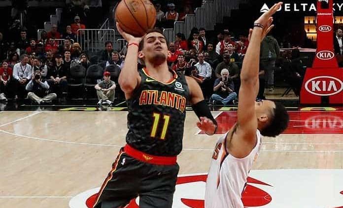 Young y Huerter llevan a Hawks a victoria ante Suns