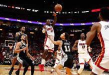 Llega Heat a 18 triunfos en casa, al superar a Spurs