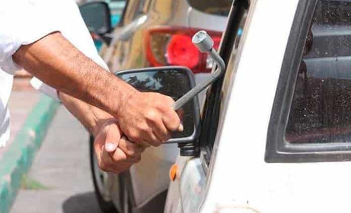 Fiscalía reporta 19 robos diarios de vehículos