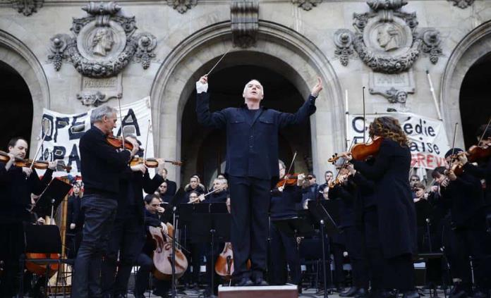 La música como bálsamo contra la pandemia en la Ópera de París
