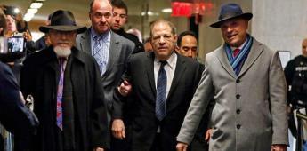 La Fiscalía de Nueva York presenta a Weinstein como un monstruo depredador