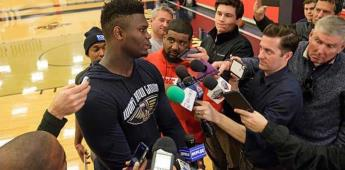 Williamson, listo para debutar con Pelicans