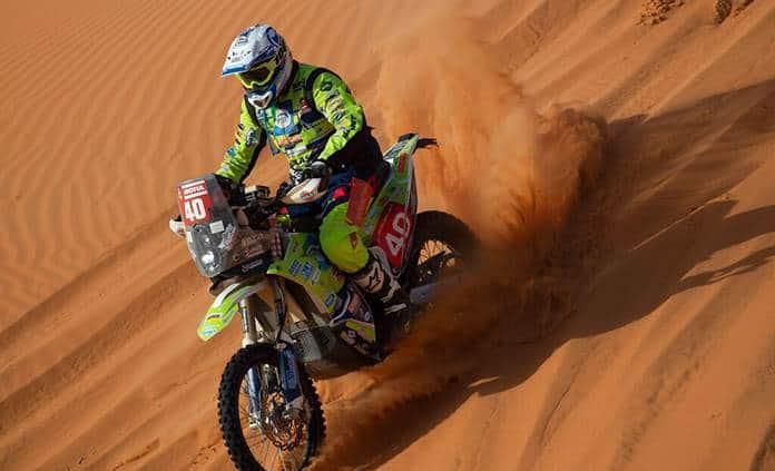 Fallece Edwin Straver, el corredor de motos accidentado en el Rally Dakar