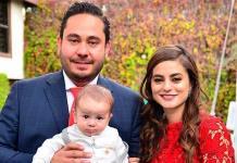 Ángel Torres Romero recibe el bautismo