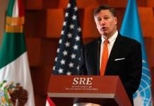 Embajador de EU felicita a México por aniversario de la Independencia
