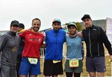 Expertos atletas en la carrera 7K del grupo CAFA