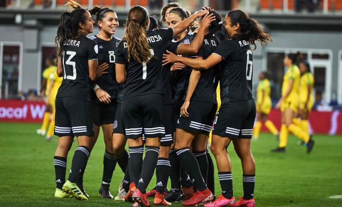 La selección femenina de México se medirá con Argentina en octubre