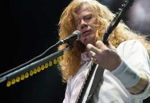 Dave Mustaine, un maestro del trash metal a sus 59 años de edad