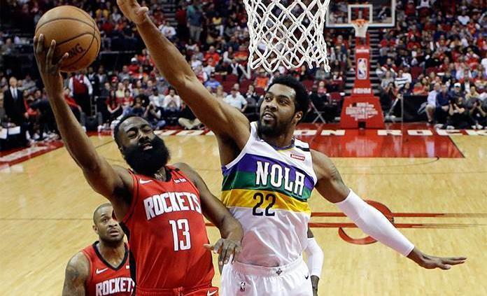 117-109: Harden mantiene a raya a los Pelicans
