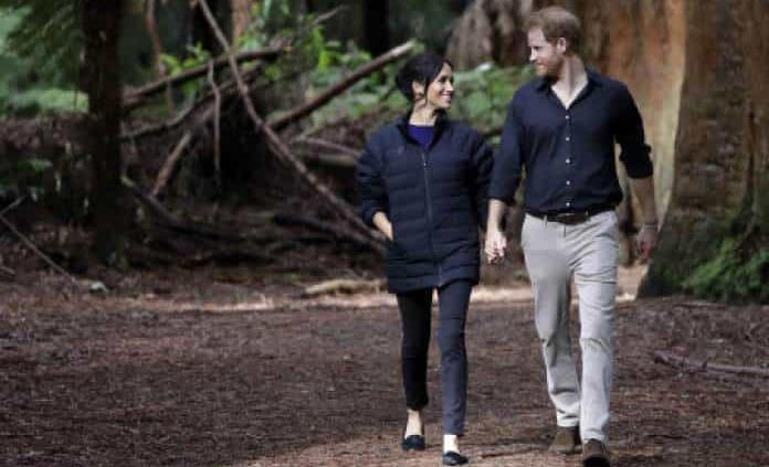 Enrique y Meghan reaparecen en público