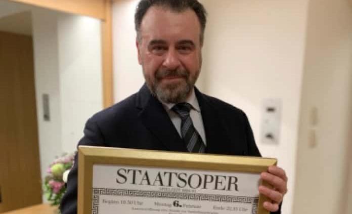 Carlos Álvarez homenajeado en Viena