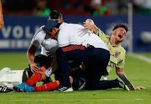 Se lesiona Nicolás Benedetti en preolímpico con Colombia