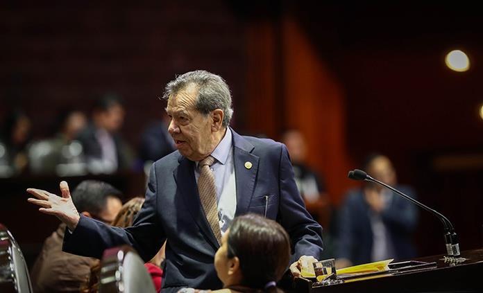 Muñoz Ledo denuncia llamadas ilegales a favor de Mario Delgado