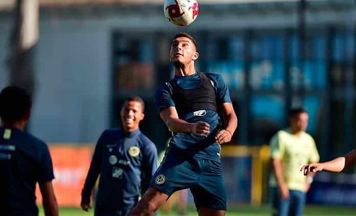 Sebastián Cáceres ya entrena con el América