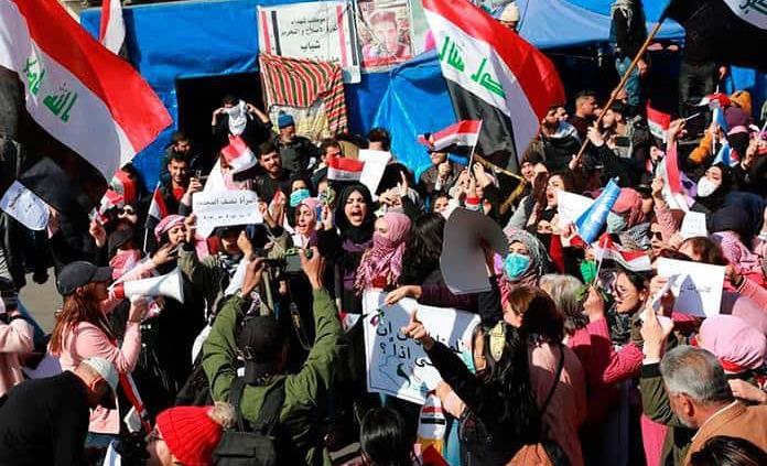 Miles de mujeres se manifiestan en desafío al destacado clérigo chií en Irak
