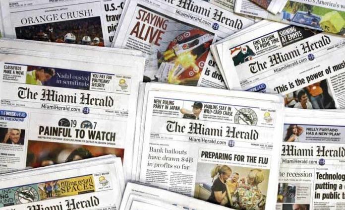 McClatchy, dueña del Miami Herald, se declara en bancarrota