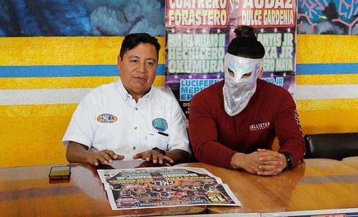 Presentan programa de lucha libre en el Miguel Barragán