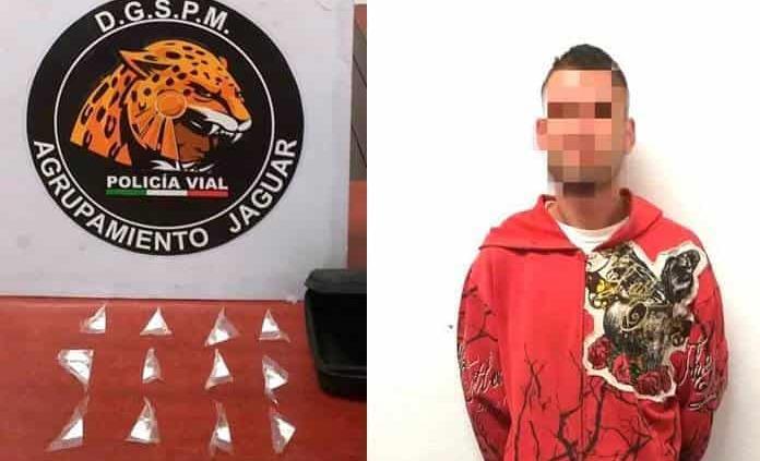 "Con 12 dosis de ""cristal""arrestan a un joven"