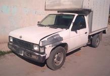 Localizan en Hacienda de San Miguel una camioneta robada