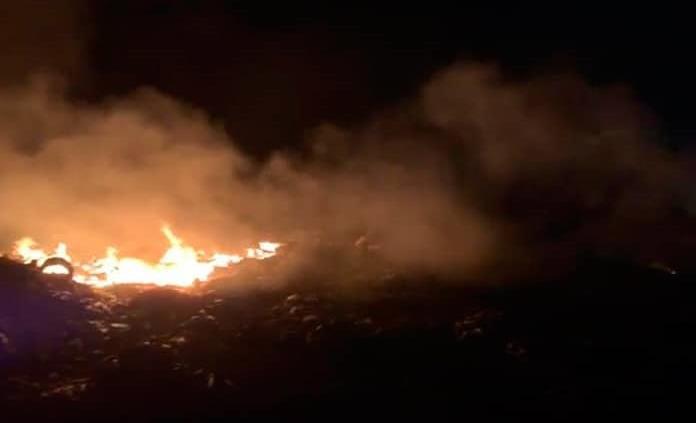 Sería provocado el incendio en basurero de Ciudad Valles