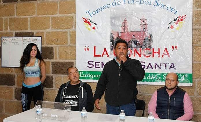"Presentan Torneo de Futbol de Semana Santa ""La Concha 2020"""