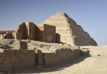Egipto reabre pirámide escalonada de Zoser