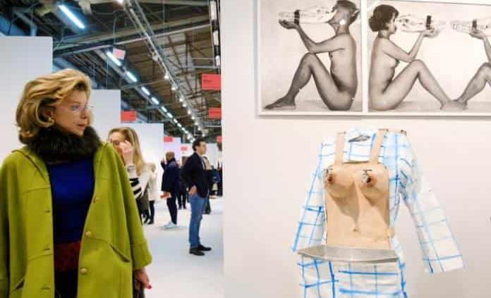 "Fiesta neoyorquina del arte ""Armory Show"""