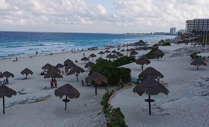 El turismo internacional en México cayó 66.6 % interanual en julio