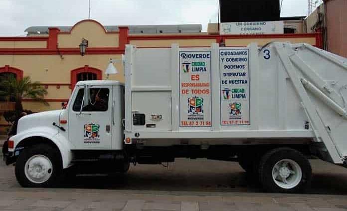 Protegen al personal que recolecta la basura