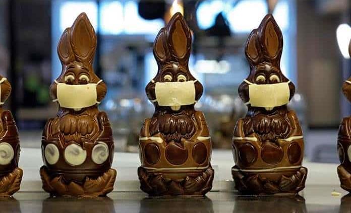 Conejos de Pascua solidarios para combatir al coronavirus