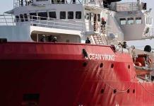 Ocean Viking pide auxilio para el desembarco urgente de 117 migrantes
