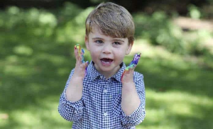 Príncipe Luis celebra 2 años
