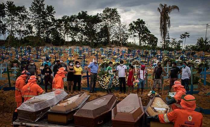Brasil supera las 5.900 muertes por coronavirus, con más de 85.000 casos
