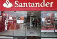 Santander se pronuncia sobre falla en cajeros automáticos