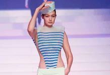 Camiseta marinera, tendencias de la moda por el confinamiento