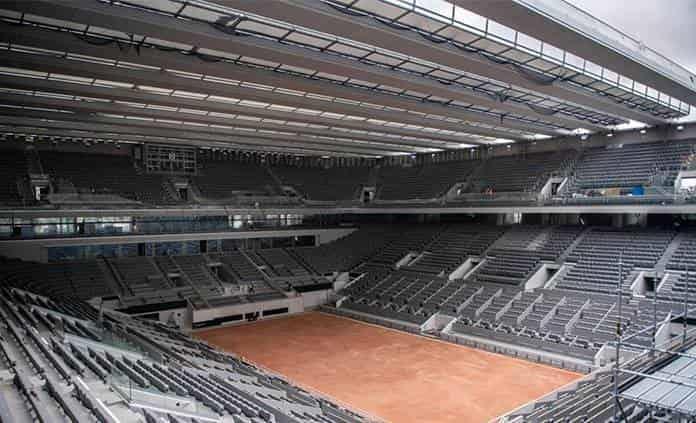 Deportes: Roland Garros podrá recibir 5.000 espectadores en cada estadio por día