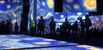 Extienden estancia de la experiencia inmersiva de Van Gogh Alive en México