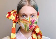 Mascarillas fashion para dar color a los tiempos oscuros del COVID-19