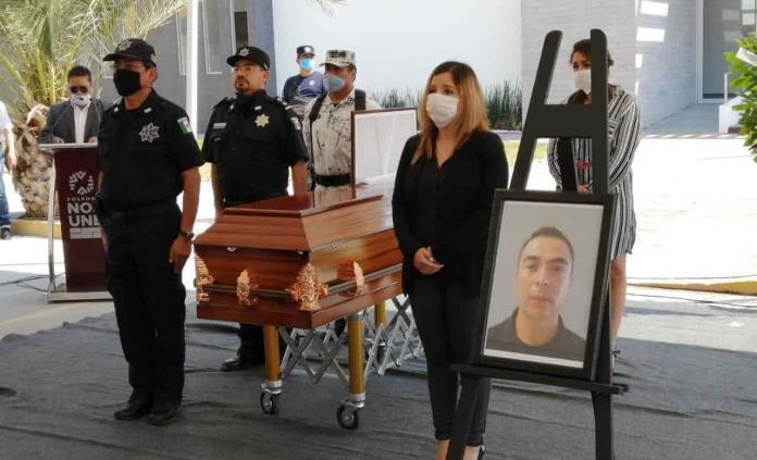 Homenajean a policía soledense asesinado en el Periférico