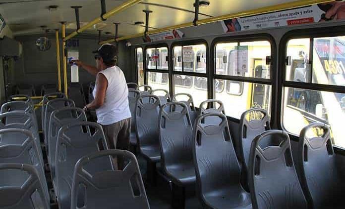 No arranca transporte urbano