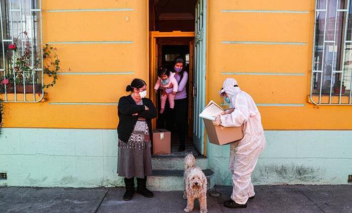 Chile inicia pago de renta básica para 4.9 millones de personas por pandemia